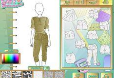 Игра Игра Модная студия: Стиль сафари