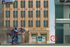 Трансформеры защищают город