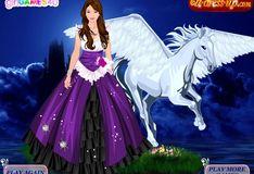 Игра Игра Принцесса и Пегас - Одевалка