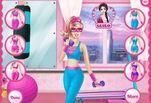 Игра Барби супергерой В спортивном заре