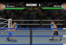 Игра нокаут на боксерском ринге