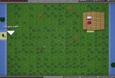 Игра Майнкрафт: Защита и создание усадьбы
