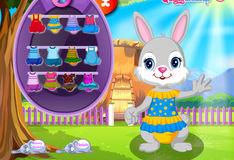 Игра Одеть красивого кролика