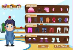 Игра Детская мода