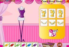 Игра Игра Дизайн платье для Барби