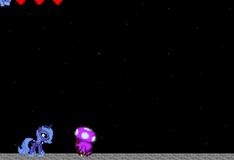 Игра Май литл пони: Бродилка с Пони Принцесса луна