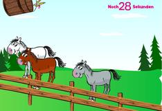 Игра Кормление лошадей