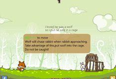 Игра Кроличья шкура с любовью к волку