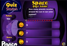Игра Вопросы о космосе