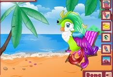 Игра Экзотический попугай
