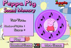 Игра Запоминание мелодии со свинкой Пеппой