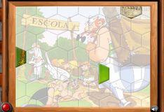 Игра Игра Астерикс и Обеликс: Собери картинку