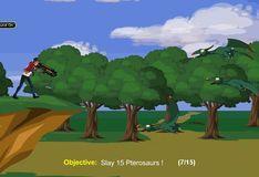 Игра Игра Король генератора сражение с динозаврами