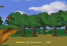 Игра Король генератора сражение с динозаврами