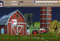Игра Игра Супер корова: Сбор молока