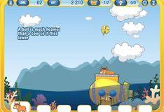 Игра Игра Супер коровы на подводной лодке