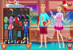 Игра Игра Город героев одевалки: Хани Лемон и Фред