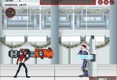 Игра Игра Генератор Рекс. Стрельба из пушки снежками