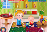 Играть бесплатно в Малышка Хейзел веселится на кухне