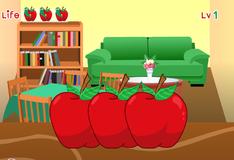 Игра Червяк в яблоке