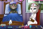 Игра Кот Том простудился