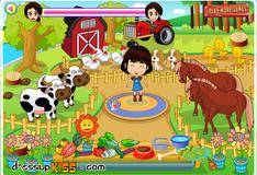 Игра Маленькая фермерша