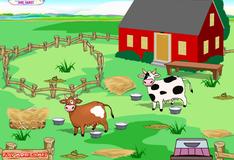 Уборка на ранчо