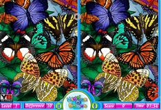 Игра Фото с бабочками