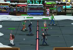 Игра Картун Нетворк: Снежная битва