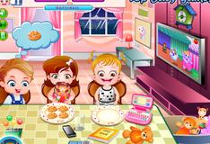 Игра Поведение во время еды Малышки Хейзел