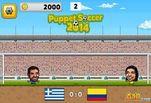 Играть бесплатно в Игра Марионеточный футбол 2014