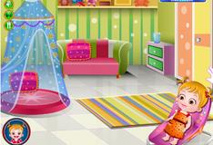 Игра Малышка Хейзел готовит подарок на День матери