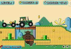 Игра Игра Марио 2. Трактор