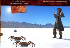 Игра Пираты Карибского моря: Ловля крабов