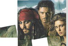 Игра Пираты Карибского моря: пазлы