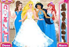 Игра Игра Принцессы Диснея: Подружки невесты