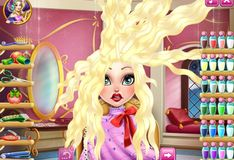 Игра Эппл Уайт: Причёска