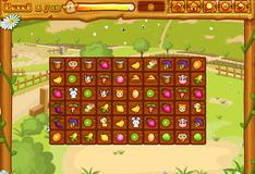 Игра Маджонг с продуктами на ферме