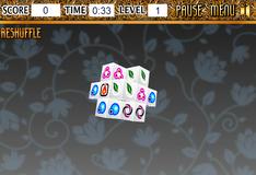 Игра Маджонг 3D кубики