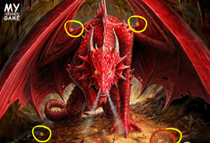 Игра Скрытые монеты- драконы