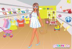 Игра Игра Будущая мама в магазине