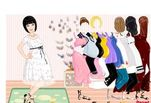 Играть бесплатно в Игра Модная мамочка