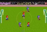 играйте в Соник и Марио играют в футбол