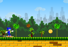 Игра Соник супер бегун