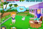 Игра Малышка Хейзел запускает воздушного змея