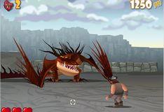 Игра Как приручить дракона: Родео на рептилии
