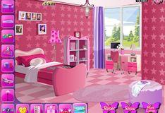 Игра Игра Украшение комнаты для Барби