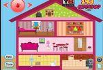 Игра Барби Украшение кукольного домика