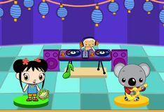 Игра Игра Танцы ди-джея Хохо