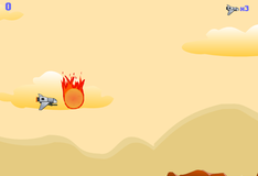 Игра Спасение от метеоритного дождя